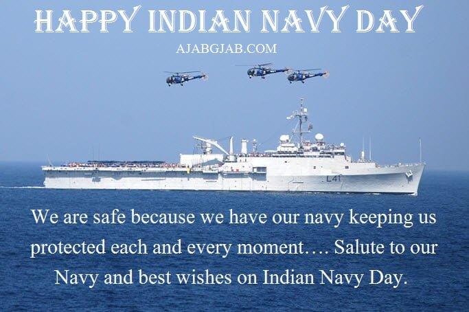 Indian Navy Day Status