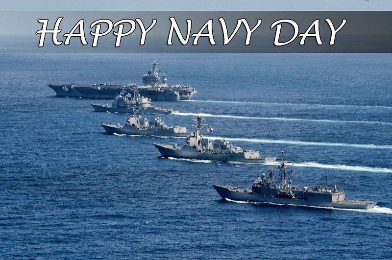 Indian Navy Day WhatsApp Wallpaper