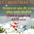 Merry Christmas Hindi Messages