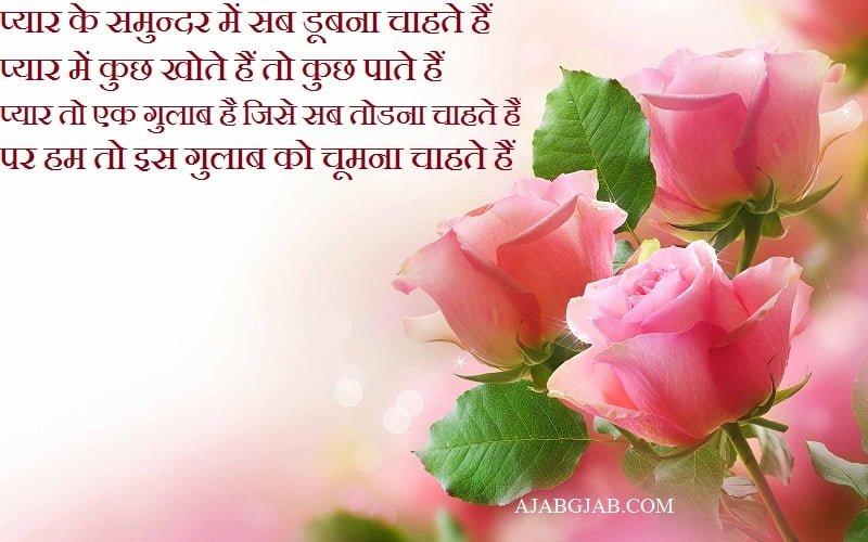 Gulab Shayari For Facebook