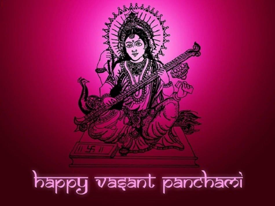 Happy Basant Panchami Hd Wallpaper