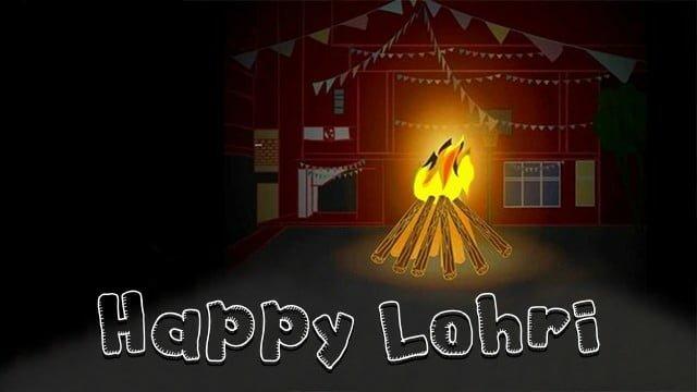 Happy Lohri Facebook Images