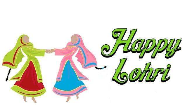 Happy Lohri WhatsApp Wallpaper