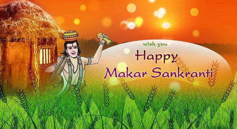 Happy Sakrat Hd Pictures