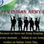 Indian Army Day Status