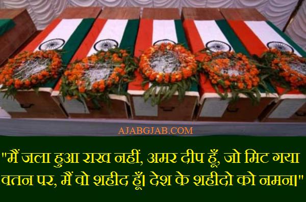 Shaheed Status In Hindi