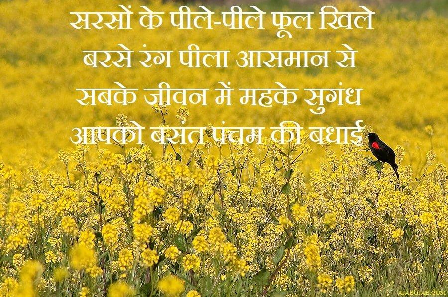 Happy Basant Panchami Hindi Photos