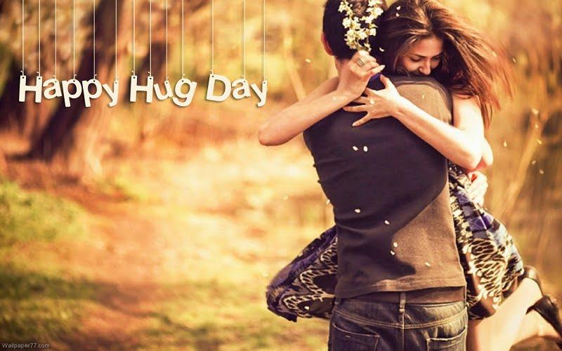 Happy Hug Day Hd Wallpaper