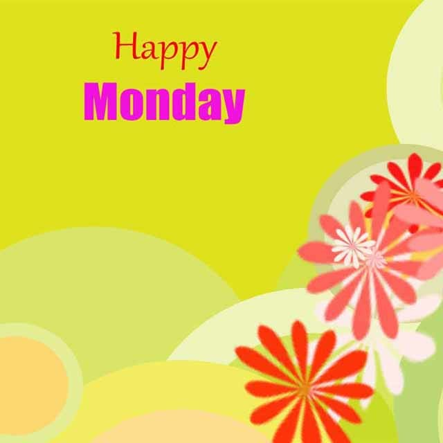 Happy Monday Good Morning Hd Greetings For Facebook