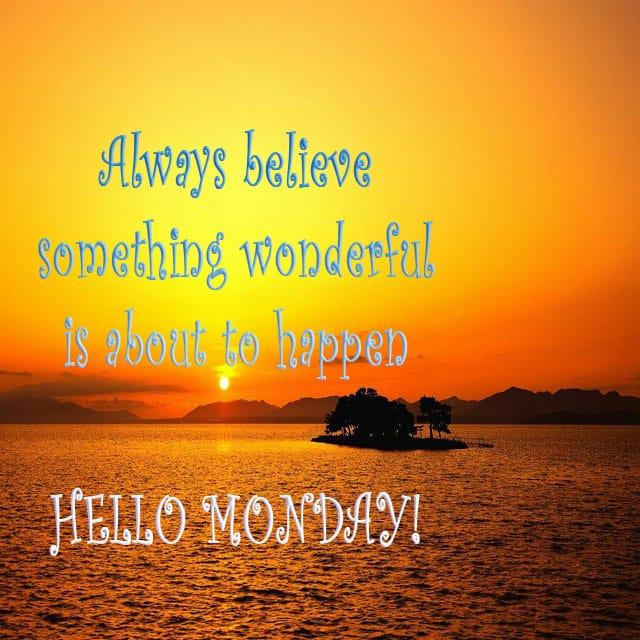 Happy Monday Good Morning Hd Greetings