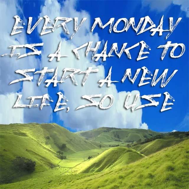 Happy Monday Good Morning Wallpaper