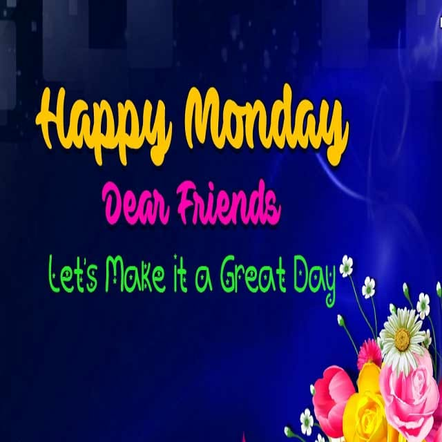 Happy Monday Hd Photos