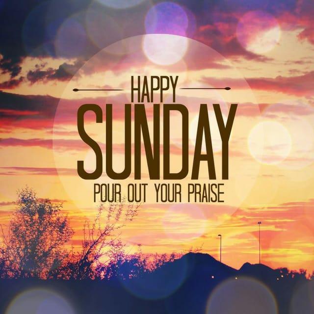 Happy Sunday Hd WallpaperFor WhatsApp