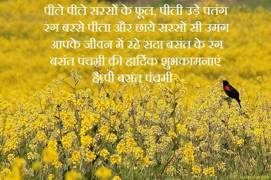 Happy Vasant Panchami Hindi Photos
