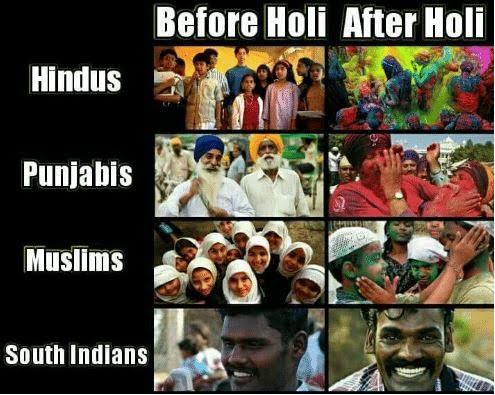 Best Holi Funny Images