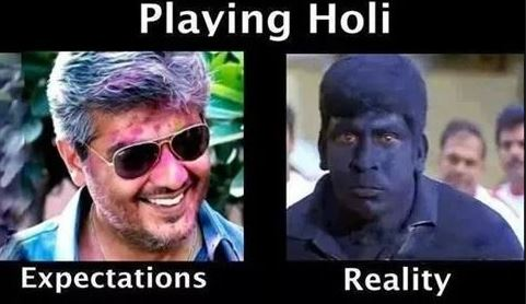 Best Holi Funny Pictures