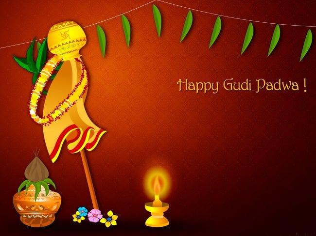Gudi Padwa Hd Images For WhatsApp