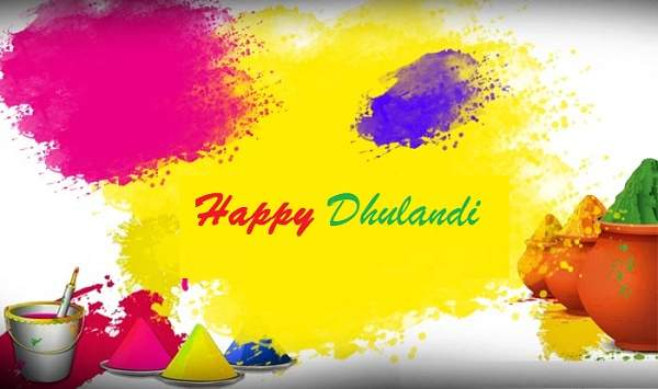 Happy Dhulandi Hd Greetings For WhatsApp