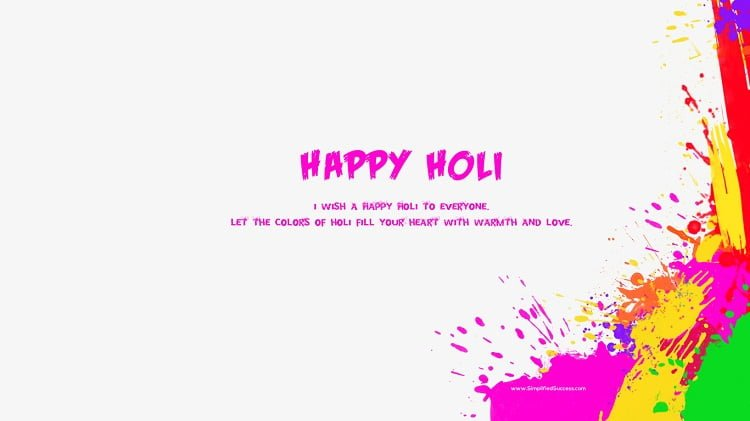 Happy Holi Hd Greetings For Facebook