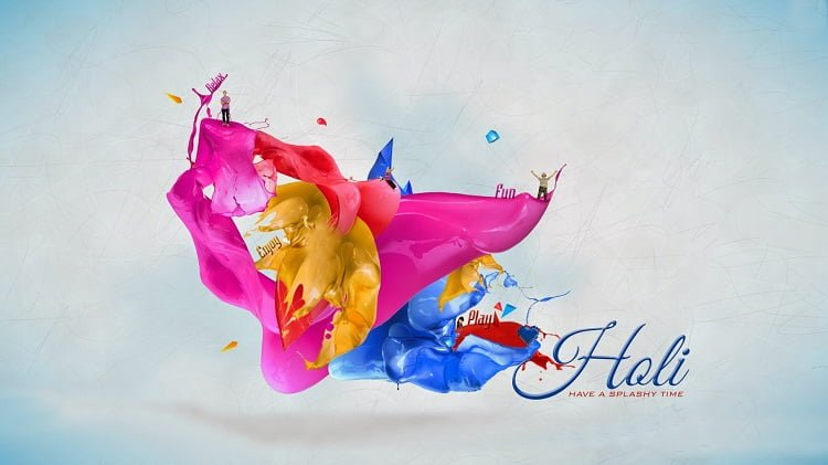 Happy Holi Hd Wallpaper For Facebook