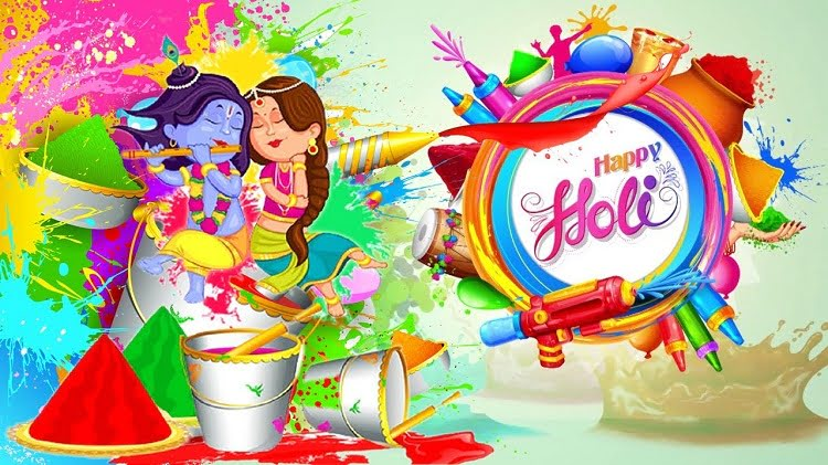 Happy Holi Hd Wallpaper For WhatsApp
