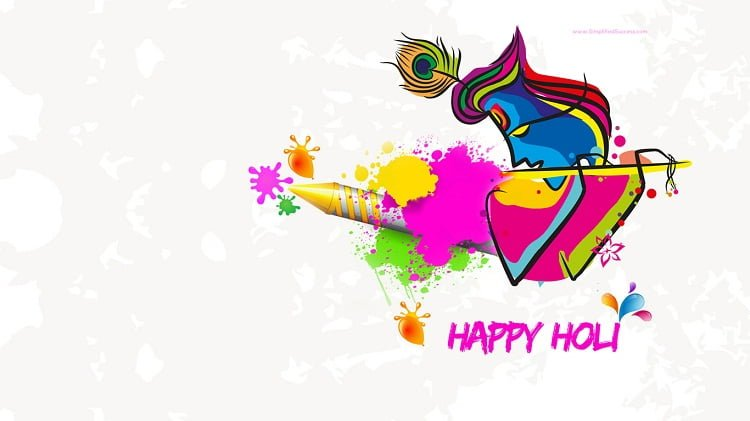 Latest Holi Facebook Dp