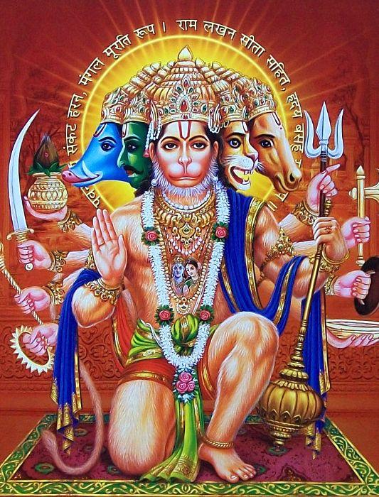 Lord Hanuman Hd GreetingsFor WhatsApp