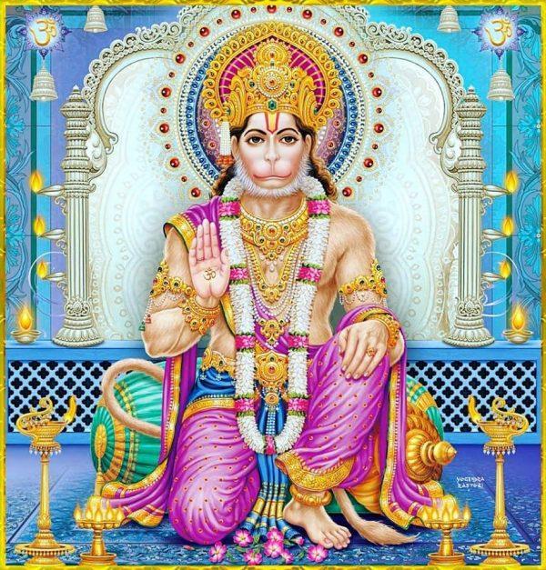 New Lord Hanuman Hd Greetings