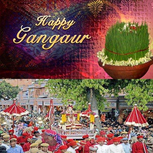 Happy Gangaur Hd Wallpaper