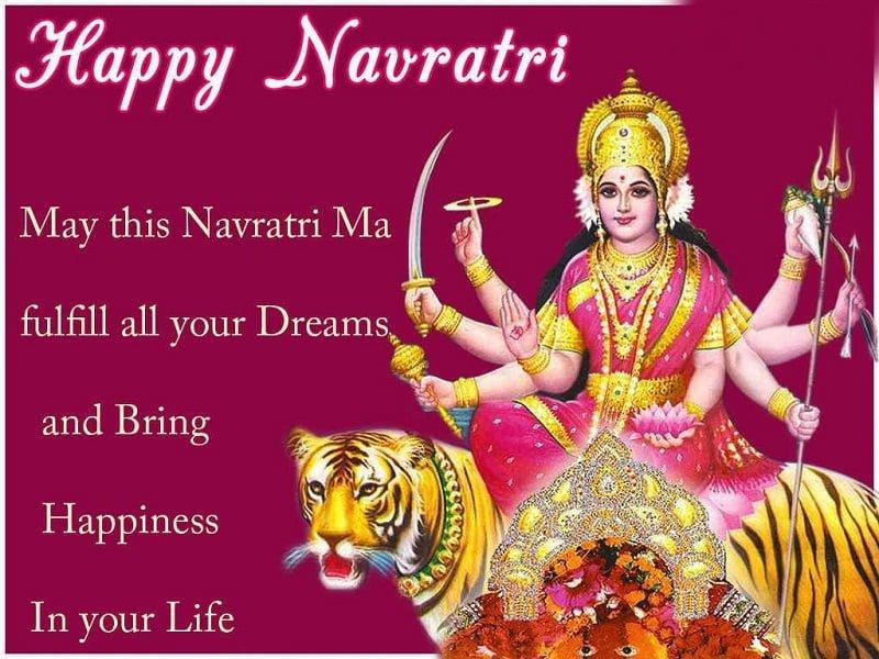 Latest Navratri Facebook Dp