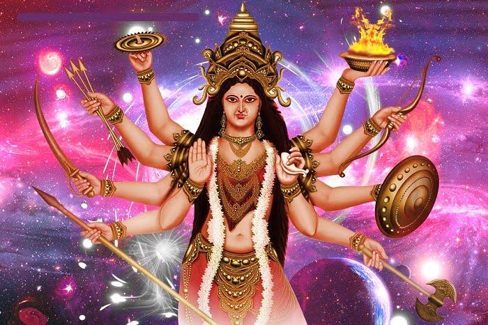 Mata Rani Hd Greeings