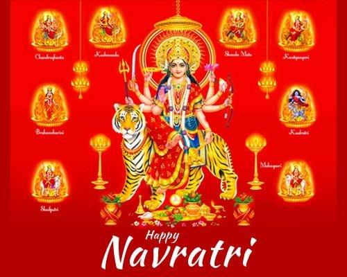 Navratri WhatsApp Dp