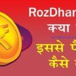 RozDhan Best Earning App