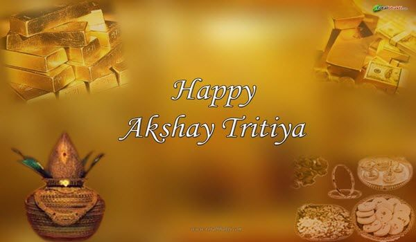 Happy Akshaya Tritiya Hd Greeting