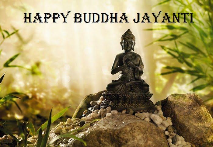 Happy Buddha Jayanti WallpaperFor Facebook