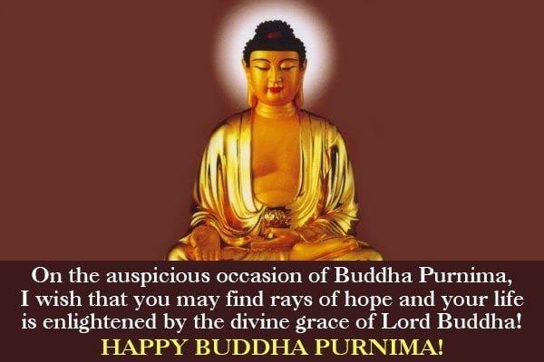 Happy Buddha Purnima Hd Wallpaper