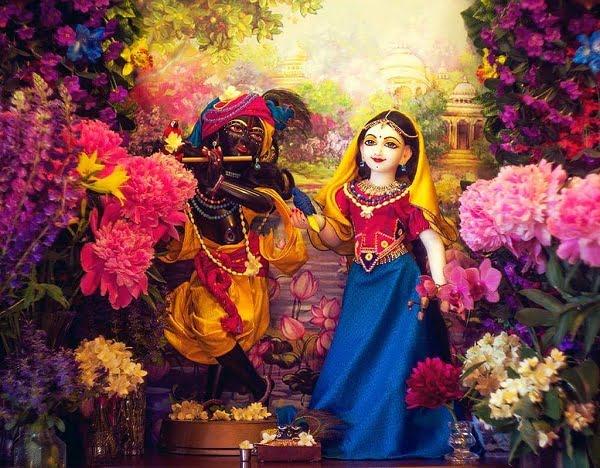Radha Krishna Hd Greeting For WhatsApp