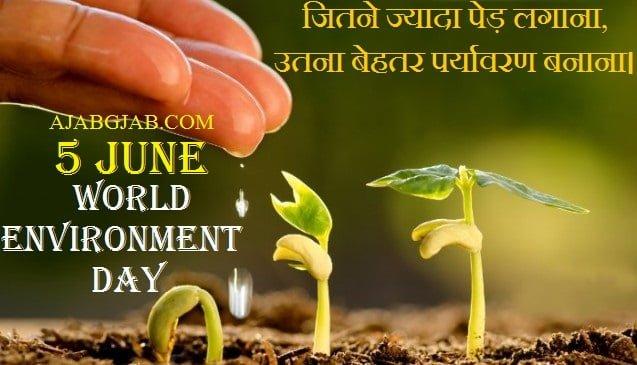 Environment Day Status For WhatsApp