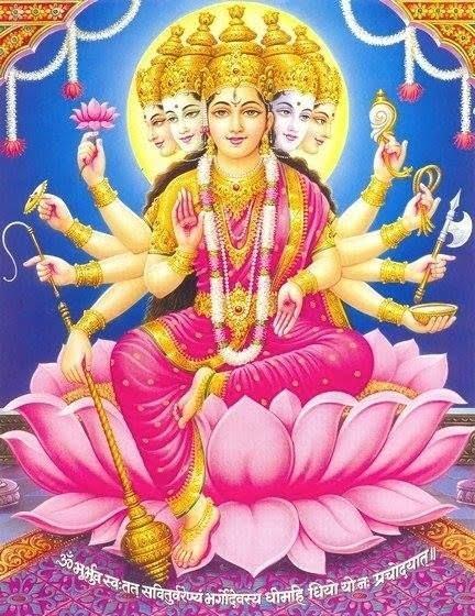 Gayatri Mata Hd Greetings Free Download