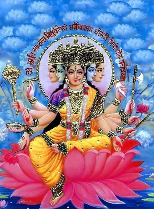 Gayatri Mata Hd Greetings