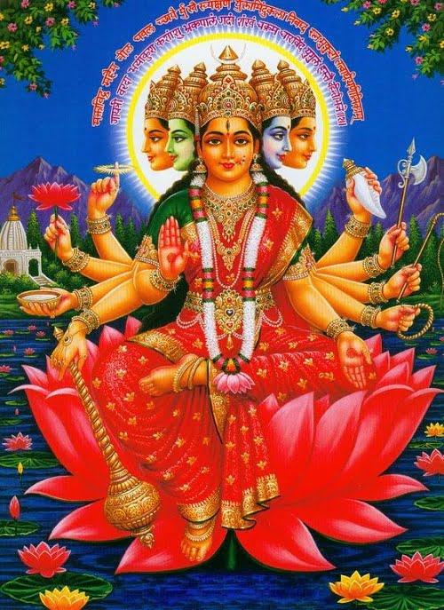 Gayatri Mata Hd Pictures Free Download