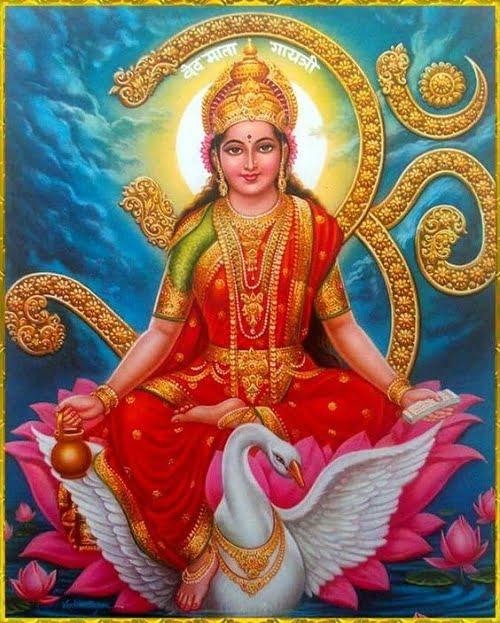 Gayatri Mata Hd Wallpaper