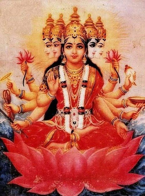 Gayatri Mata Wallpaper