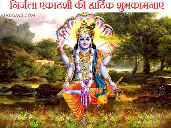 Happy Nirjala Ekadashi Greetings