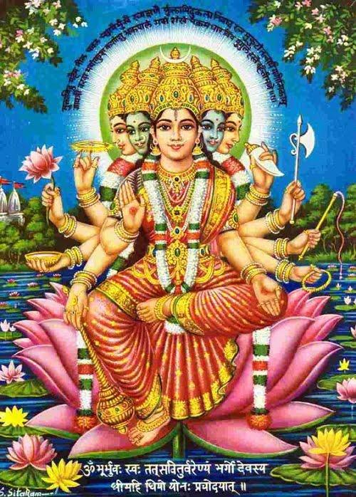 Latest Gayatri Mata Hd Greetings