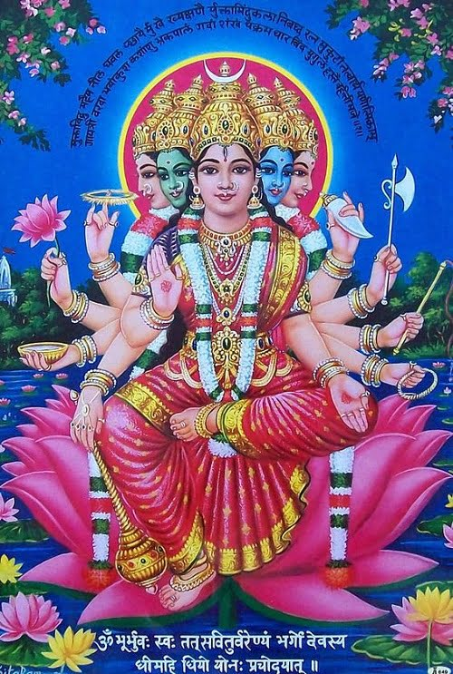 Latest Gayatri Mata Hd Images