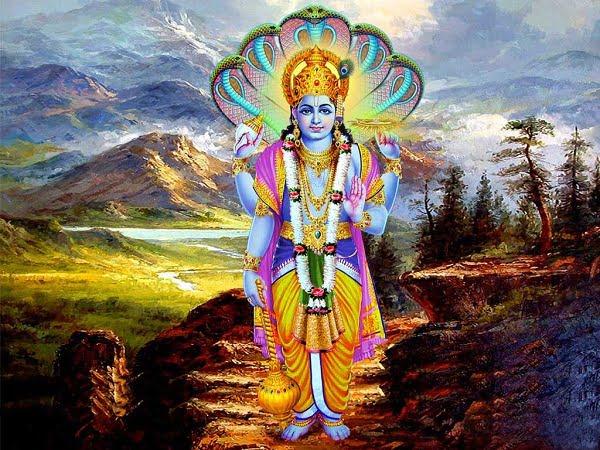 Latest Lord Vishnu Hd Photos