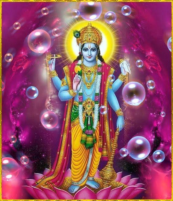 Lord Vishnu Hd Greetings For Facebook