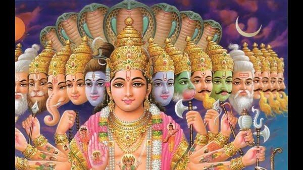 Lord Vishnu Hd Greetings