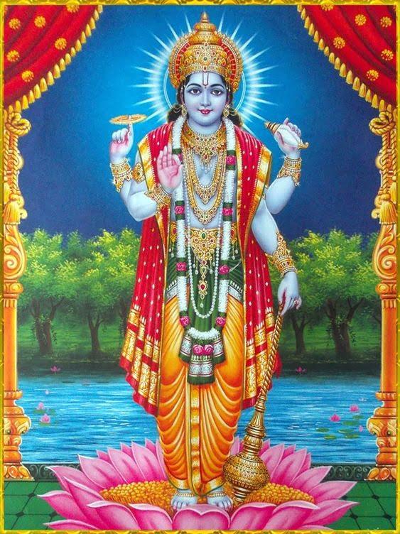 Lord Vishnu Hd Wallpaper For WhatsApp